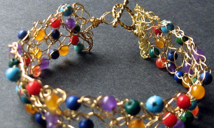 TiaMarie Beading Studio - Montclair: Jewelry-Making Class for One or Two Kids or Adults, or a Birthday Party at TiaMarie Beading Studio (Up to 59% Off)