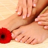 Up to 56% Off Deluxe Mani-Pedis