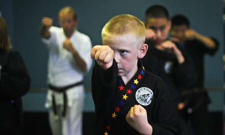 One or Two Months of Muay Thai Kickboxing or One Month of Beginners' Karate at Alpha Martial Arts (Up to 79% Off)