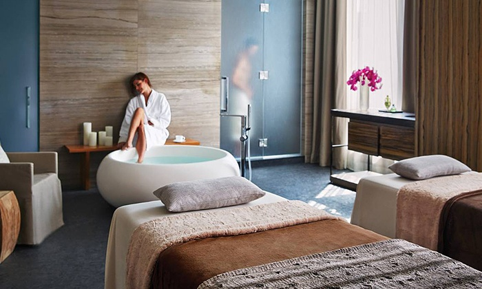 The Spa at the Four Seasons Toronto - The Spa at the Four Seasons Toronto: Massage or Advanced Firming Facial with Access to Spa Amenities at The Spa at the Four Seasons Toronto (Up to 36% Off)