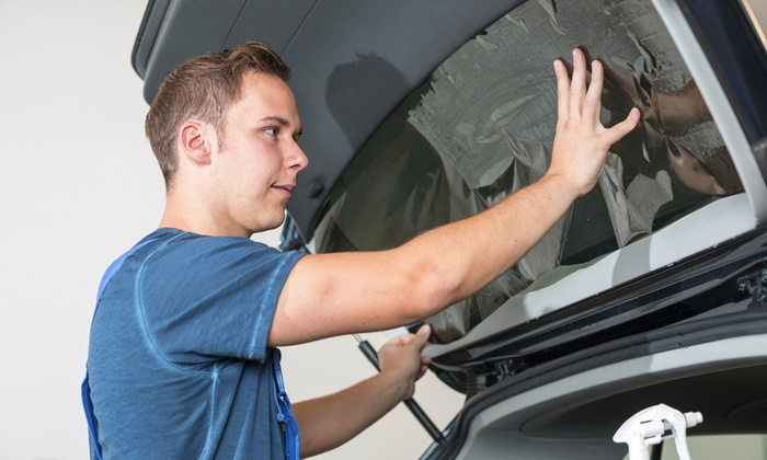 Sun Stoppers of Matthews, LLC - Matthews: $200 for a Carbon Series Full-Window Tint for an SUV or Minivan at Sun Stoppers of Matthews ($400 Value)
