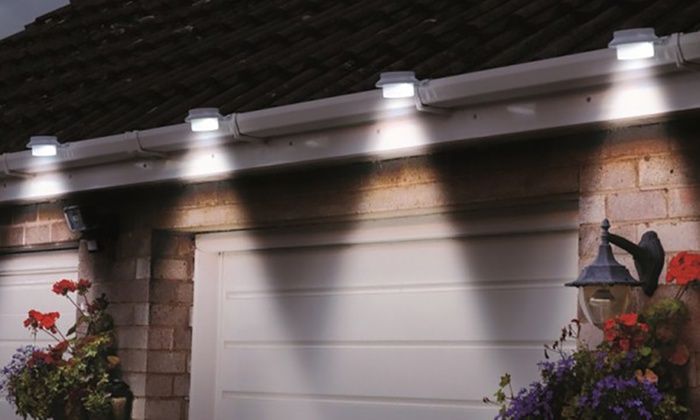 Set Van 2 Of 4 Solar Verlichting Groupon Goods