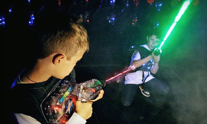 Lasertag of Carmichael - Sacramento: $19 for Laser-Tag Outing with Game Tokens for Up to Five People at Lasertag of Carmichael (Up to $51.25 Value)