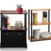 Furinno 3- and 4-Tier Shelving Units