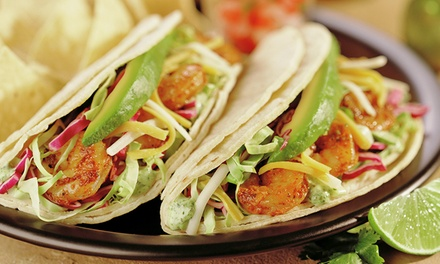 Mexican Food at La Salsa Fresh Mexican Grill (40% Off). Two Options Available.
