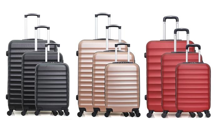 Jakarta Set of Three Suitcases