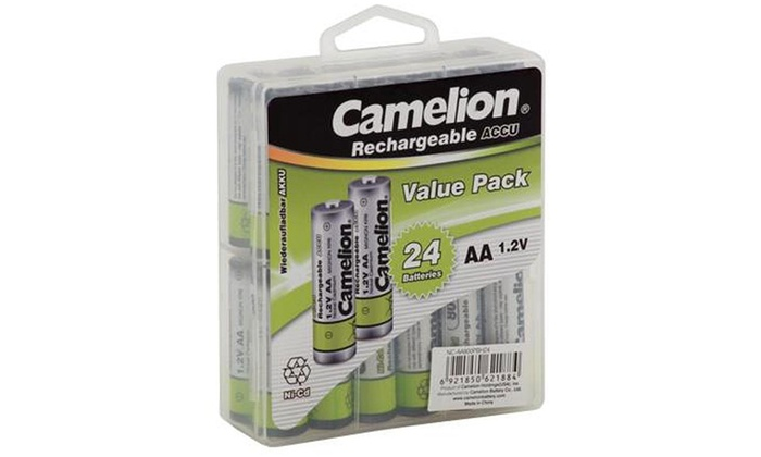 Up To 46 Off On Rechargeable Batteries 24 Pack