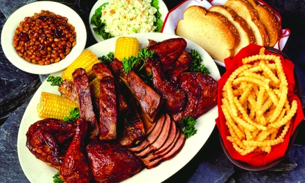 Barbecue at Woody's Bar-B-Q (Up to 45% Off). Three Options Available.