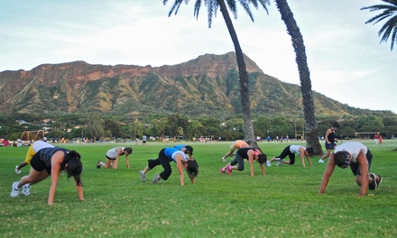 10 or 20 Unlimited Yoga or Boot-Camp Classes or One Month of Classes at Hi Life Athletics (Up to 66% Off)