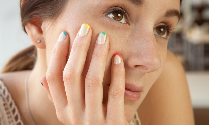 Creative Cuts - Fallon: One, Two, or Three Manicures and Pedicures at Creative Cuts (Up to 54% Off)