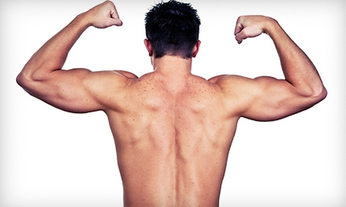 Manscape Spa - Victoria: One or Two Men's Back-and-Shoulder Waxes at Manscape Spa (Up to 52% Off)