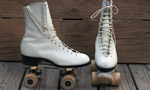 King's Skate Country: Roller Skating for Two with Drinks or for Four at King's Skate Country ( Up to 56% Off)