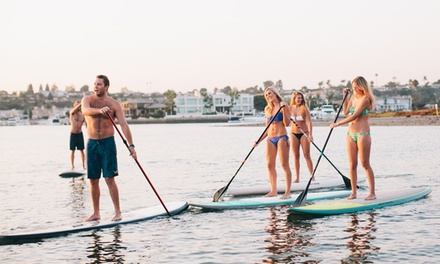 One-Hour Standup-Paddleboard Rental for Two from Pirate Coast Paddle Company (Up to 48% Off)
