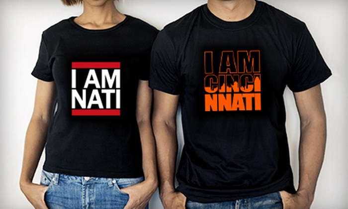 I Am Cincinnati Clothing: $25 for $50 Worth of T-Shirts and Hoodies from I Am Cincinnati Clothing
