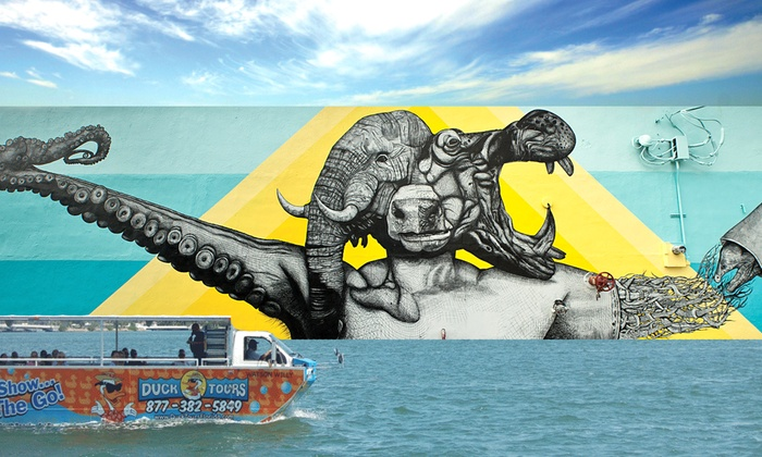 The Art Experience - Wynwood: Art on the Duck Tour for One, Two, or Four from The Art Experience (Up to 42% Off)