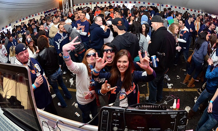 "Detroit Home Opener Festival - Downtown: Two or Four VIP Tickets to ""Detroit Tigers Home Opening Day Festival"" on Monday, March 31 at 9 a.m. (56% Off)"
