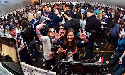 Two or Four VIP Tickets with Beers to Detroit Home Opener Festival on Monday, March 31 at 9 a.m. (56% Off)