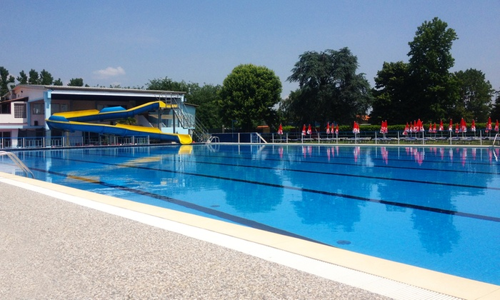 Piscina di Ghislarengo - PISCINA DI GHISLARENGO: Fino a 6 ingressi giornalieri alla piscina estiva di Ghislarengo da 12,90 €