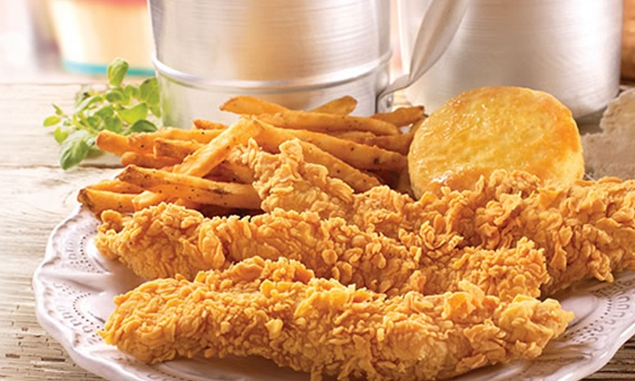 Popeyes Louisiana Kitchen - Multiple Locations: Louisiana-Style Chicken, Biscuits, and Sides at Popeye's Chicken (Up to 50% Off). Four Options Available.