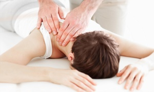 Hollingsworth Family Chiropractic: Massage or Chiropractic Care at Hollingsworth Family Chiropractic (Up to 83% Off). Three Options Available.