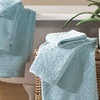 All-Over Jacquard 100% Cotton Quick-Dry Towel Set (6-Piece)