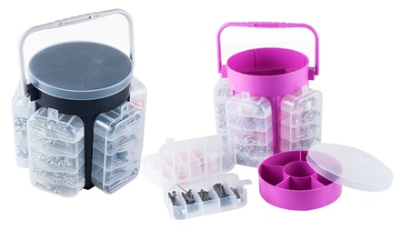 Stalwart 600-Piece Hardware Caddy