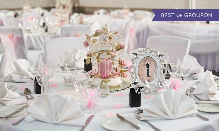 Doubletree Hilton - Multiple Locations: Wedding Package at DoubleTree by Hilton, 8 New UK Locations (Up to 53% Off)