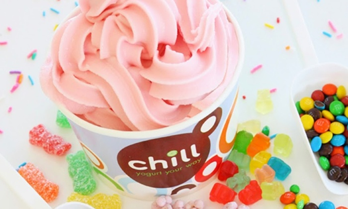 Chill Yogurt Cafe - Multiple Locations: $10 for Four Groupons, Each Good for $5 Worth of Frozen Yogurt at Chill Yogurt Cafe ($20 Total Value)