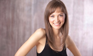La Salon: Haircut, Style, and Conditioning with Option for Color or Partial or Full Highlights at La Salon (Up to 66% Off)