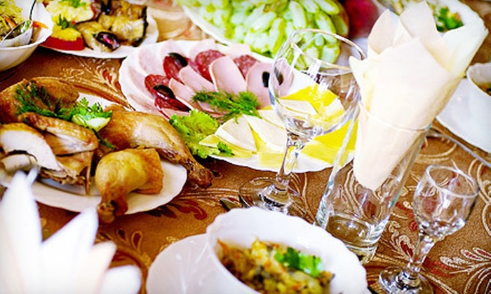 Saldoni's Catering & Event Planning - Downtown: Party Catering for 25- or 50-Person Event or $150 for $350 Worth of Event Catering from Saldoni's Catering & Event Planning
