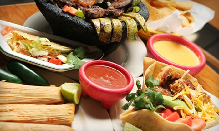 Cinco de Mayo Amigos Cantina - Multiple Locations: Mexican Food at Cinco de Mayo Amigos Cantina (Up to 55% Off). Three Options Available.