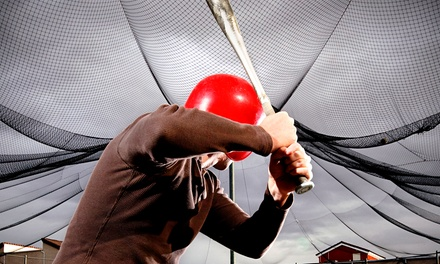 30-Minute, One-Hour, or Two-Hour Batting Cage Tunnel Rental at Sluggersville (Up to 47% Off)
