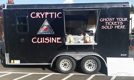 $12 for Four Groupons, Each Good for $5 Worth of Food Truck Fare at Cryptic Cuisine ($20 Value)