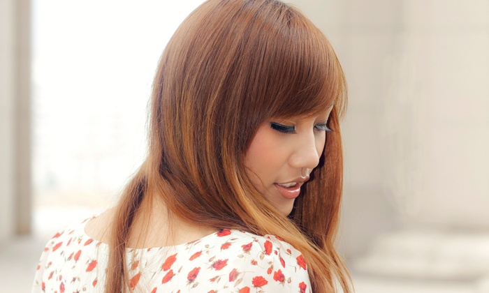 ID-1 salon - Encino: Blow-Dry and Conditioning with Optional Haircut or Makeup at ID-1 Salon (Up to 85% Off)