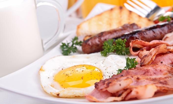 Quarter Deck International - Quarter Deck International: Any Breakfast Off The Menu At Quarter Deck International