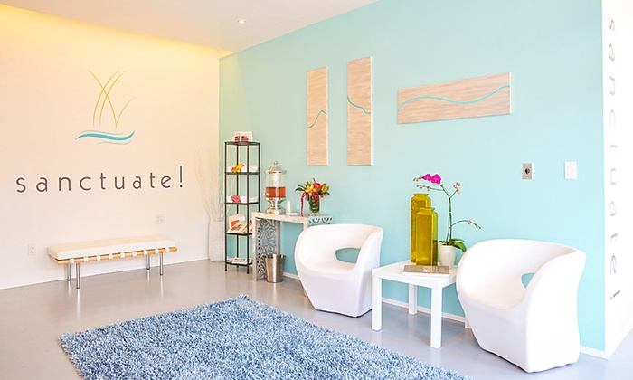 sanctuate! - Point Loma Heights: Two 45-Minute or Five 30-Minute Smart Massage-Bed Sessions at sanctuate! (Up to 52% Off)
