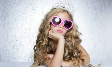 Sassy Zebra Spa Party or Glam Pop Star Beauty Party for Up to Six Girls from Glamour Avenue Parties (50% Off)