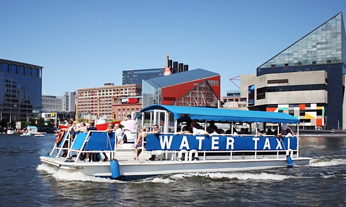 Baltimore Water Taxi - Fells Point: Frequent Floater Individual, Buddy, or Family Pass from Baltimore Water Taxi