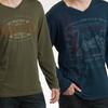 Seven7 Men's V-Neck Long-Sleeved Shirts