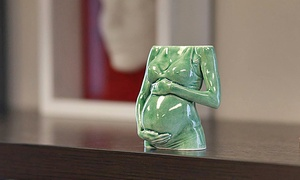 Moolean Inc: One Baby Bump Porcelain Sculpture or Infant White Nylon Sculpture at Moolean Inc (Up to 40% Off)