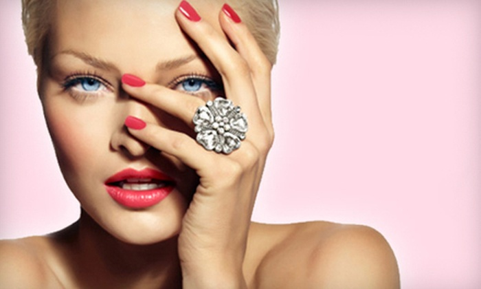 Blush Jewelry: Swarovski Crystal Rings, Bracelets, and Body Jewelry from Blush Jewelry (Up to 57% Off). Two Options Available.