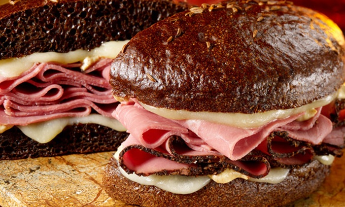 Schlotzsky's - Englewood: Deli Sandwiches or Sandwich Tray for 10-14 People at Schlotzsky's (Up to Half Off)