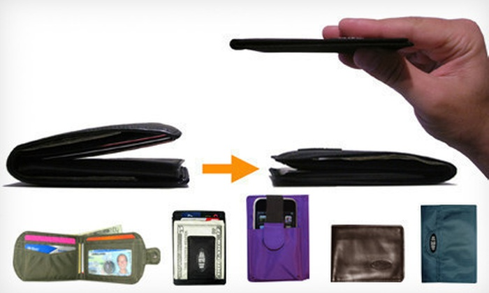Big Skinny: $12 for $25 Worth of Ultra-Thin Wallets from Big Skinny