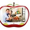 "Hannspree 28"" LCD 1080p Apple-Shaped HDTV"