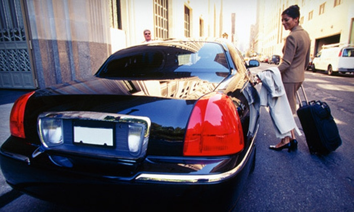 Liberty Limousine Service - San Francisco: One-Way or Round-Trip Town Car Service to San Francisco International Airport from Liberty Limousine Service (Up to 56% Off)