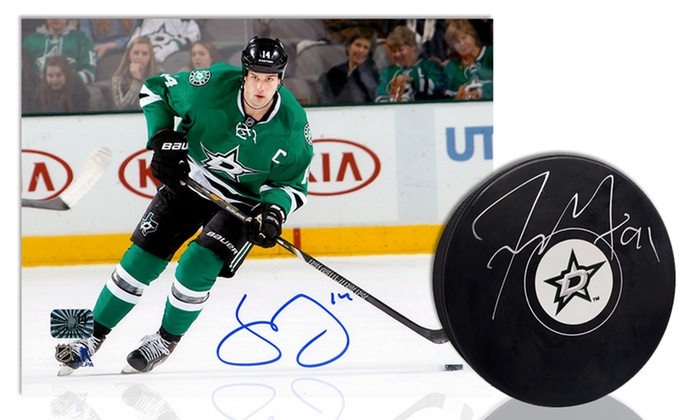 YourSportsMemorabiliaStore.com: $79 for a Photo or Hockey Puck Signed by Tyler Seguin or Jamie Benn from YourSportsMemorabiliaStore.com ($116.99 Value)