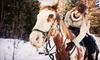 Elkhorn Lodge and Guest Ranch - Estes Park: One-Hour Horseback Ride for One, Two, or Four with Hot Chocolate from Estes Park Horseback Riding (Up to 54% Off)