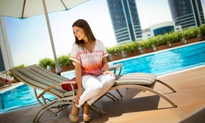 Rose Rayhaan by Rotana: Five Swimming Lessons (from AED 340) and One-Month Pool Access (from AED 440) at Rose Rayhaan by Rotana (Up to 69% Off)