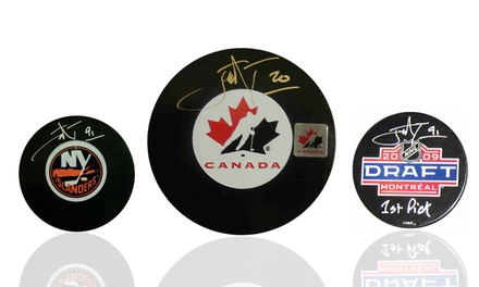 NHL 1st Overall Draft Pick Autographed Pucks from $39.99–$59.99