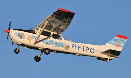 Korting Zelf vliegen met een Cessna 172